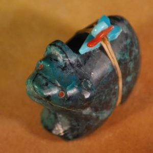 DR 355 Natural Bisbee Turquoise Bear