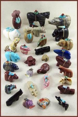 A Look At Zuni Fetish Carvings