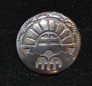 DR 193 Hopi Overlay Pendant