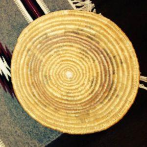 DR 409 Navajo Ceremonial Wedding Basket
