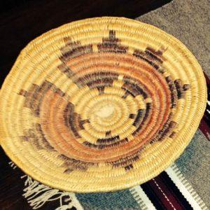 DR 408 Navajo Ceremonial Wedding Basket
