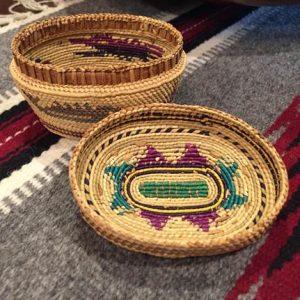 DR 416 Makah Figural Basket