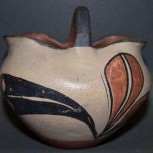 DR 2034  1940s Polychrome Basket