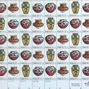 DR 542 Commemorative Stamps Pueblo Art