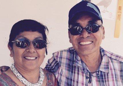 Mary and Rudy Coriz