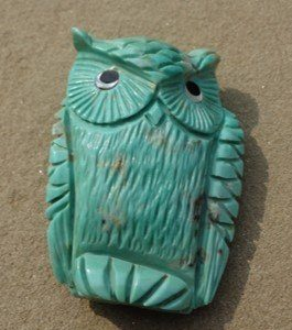 DR 3024 Campo Frio Turquoise Owl