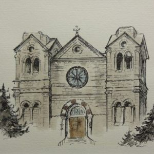 DR 570 Original Saint Francis Cathedral