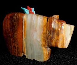DR 3037 - Banded Onyx Bear with Offering Bundle