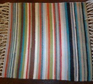DR 610 Multi-Stripe Table Rug