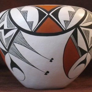 DR 2096 Thin Walled Polychrome Bowl