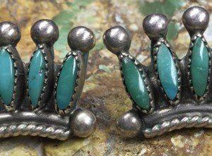 DR 1228 Needlepoint Earrings