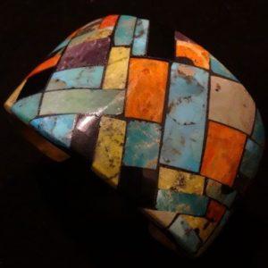 DR 116 Mosaic Inlay Cuff
