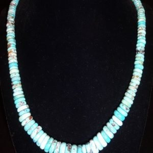 DR 1116 Morenci Heishi Necklace