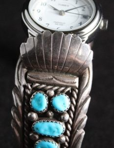 DR 1253 Turquoise Watch Cuff