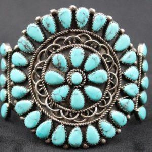 DR 113 Navajo Cluster Bracelet