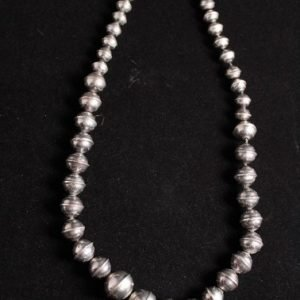 DR 1130 Sterling Silver Graduated Bench Beads