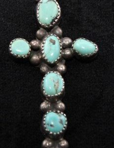 DR 1209 Turquoise Cross