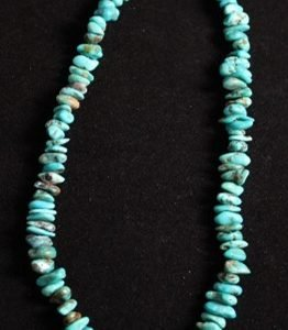 DR 121 Turquoise Nugget Necklace