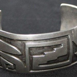 DR 1203 Hopi Overlay Bracelet