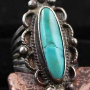 DR 1108 Vintage Turquoise Ring