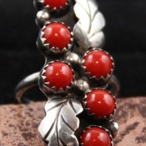 DR 1161 Double Leaf Coral Ring