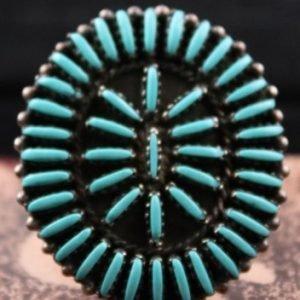 DR 117 Large Needlepoint Ring