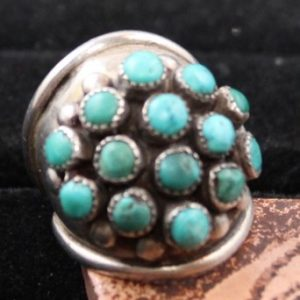 DR 1179 Turquoise Dome ring