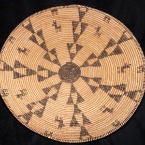 DR 437 Western Apache Figural Basket Tray