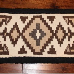DR 645 Two Gray Hills Table Rug