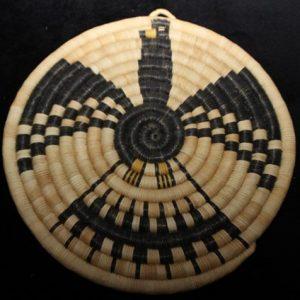 DR 438 Eagle Coil Plaque