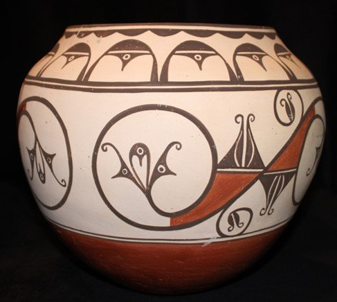DR 2124 Large Zia Polychrome Olla
