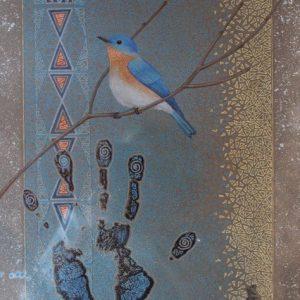 DR 583 Bluebird on a Branch