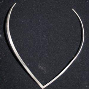 DR 1292 Sterling Silver V Slide