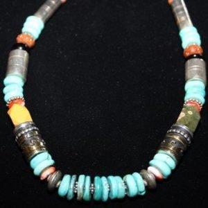 DR 1296 Tommy Singer Single Strand Necklace