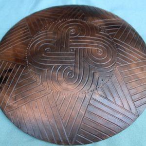 DR 2126 Cherokee Pottery Shield