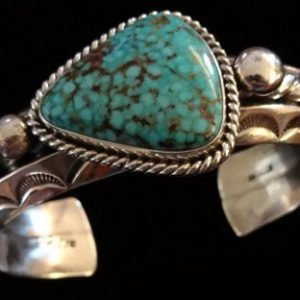 DR 1336 Albert Lee Turquoise Cuff
