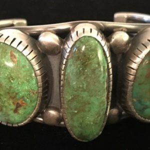 DR 1358 Northern Lights Natural Turquoise Cuff